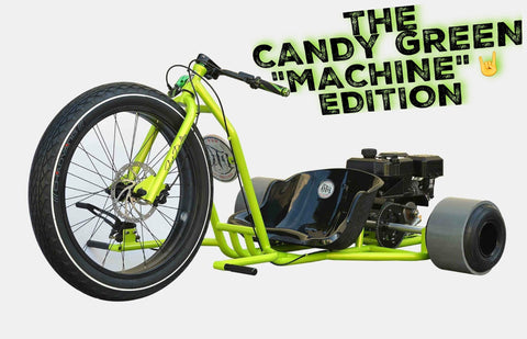 "PRE ORDER - FAT DRIFTER - CANDY GREEN ""MACHINE"" - Lovett Industries"