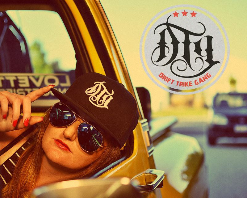 """DTG"" SNAP BACK CAP"