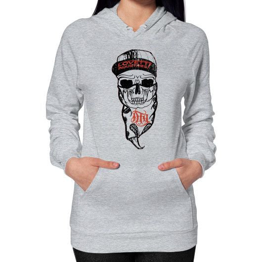 "LADIES ""DTG SKULL"" Hoodie - Lovett Industries"