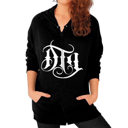 "LADIES ""DTG"" Zip Hoodie - Lovett Industries"