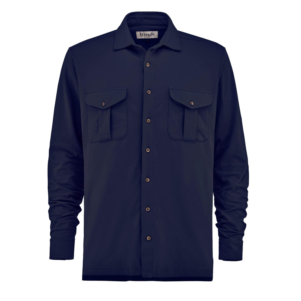 Lynx Laboratory Trigger Shirt / Night Blue