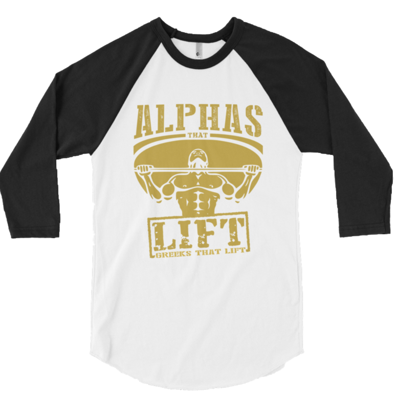 Alpha That Lift Baseball T