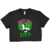Pretty Girls That Lift Cropped Tee