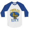 POODLES THAT LIFT BASEBALL TEE