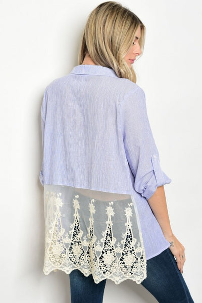 Lace Tunic Blouse