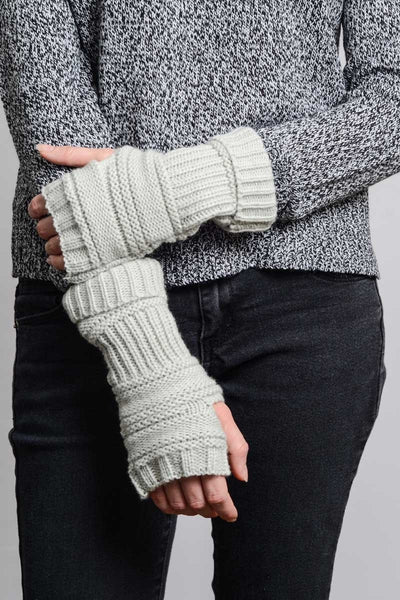 Knitted Arm Warmers