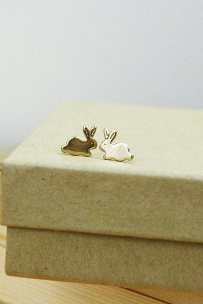 VINTAGE | Tiny Bunny Earrings