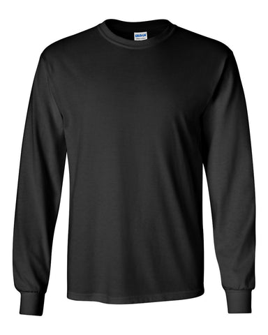 2.  Black Long Sleeve T-Shirt
