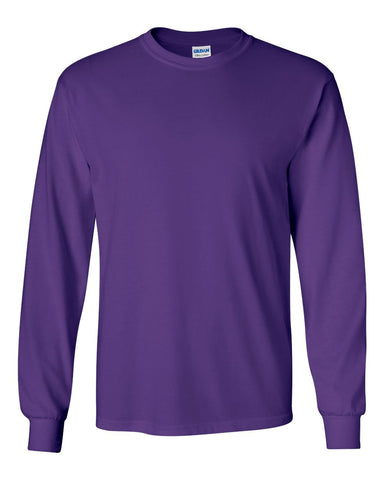 2.  Purple Long Sleeve T-Shirt