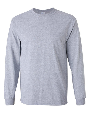 2.  Grey Long Sleeve T-Shirt