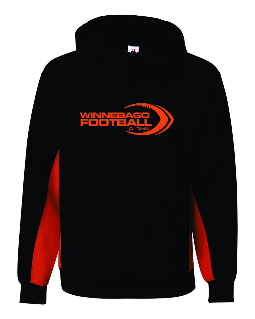 BT5 Performance Fleece Hooded Sweatshirt Logo 4