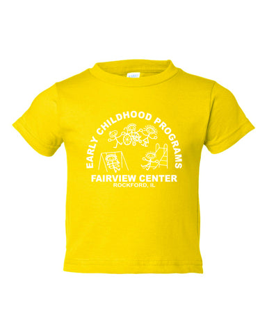2.  Toddler Yellow Short Sleeve