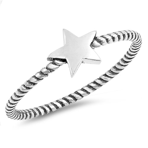 Star Rope Ring by Rata Jewellery - Rata Jewellery