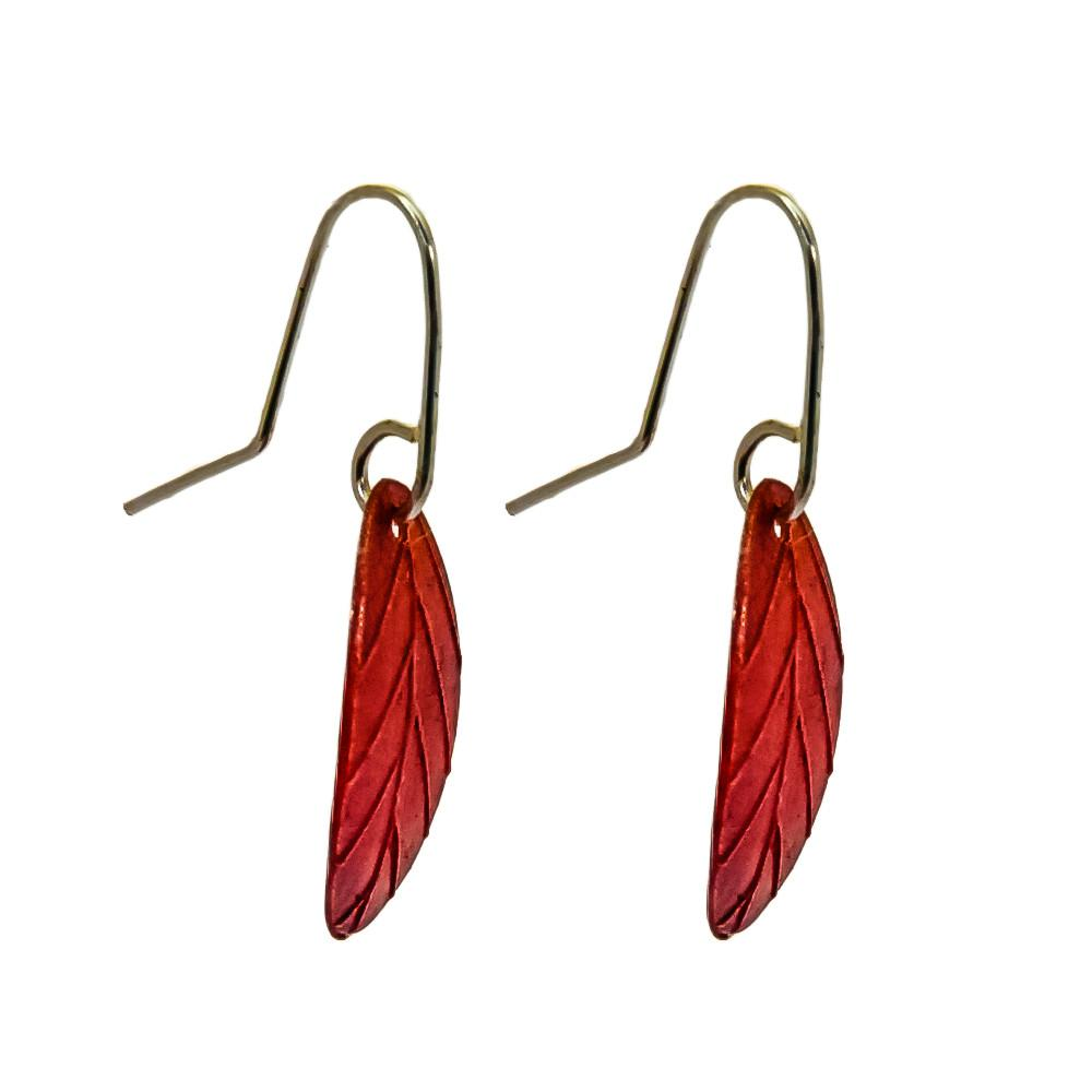Garland Earrings - Copper by Stone Arrow - Rata Jewellery