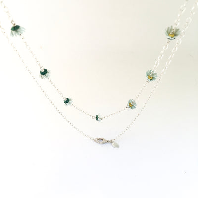 Daisy Chain Necklace by Adele Stewart - Rata Jewellery