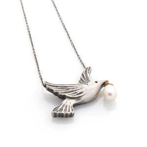 Dove Necklace by Louise Douglas - Rata Jewellery
