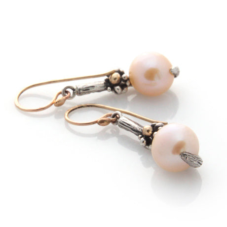 Floral Pearl Earrings