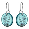 Glass Flax Earrings by Stone Arrow - Rata Jewellery
