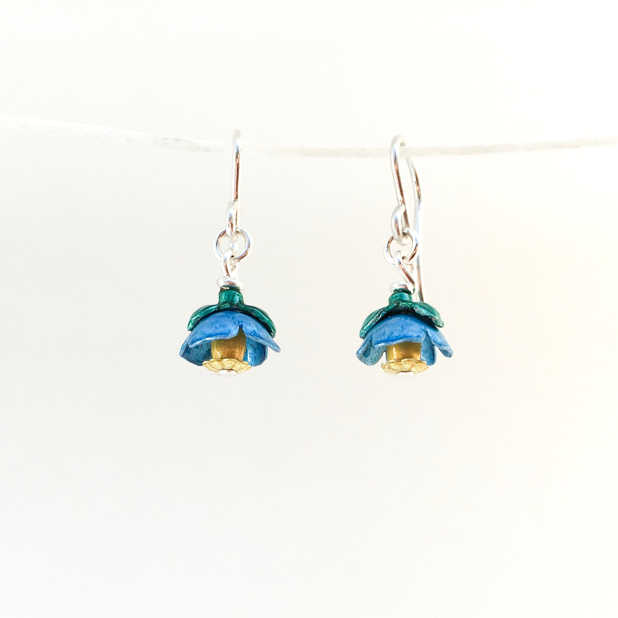 Himalayan Poppy Drop Earrings