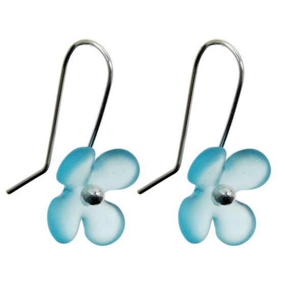 Hydrangea Earrings - Bombay by Stone Arrow - Rata Jewellery