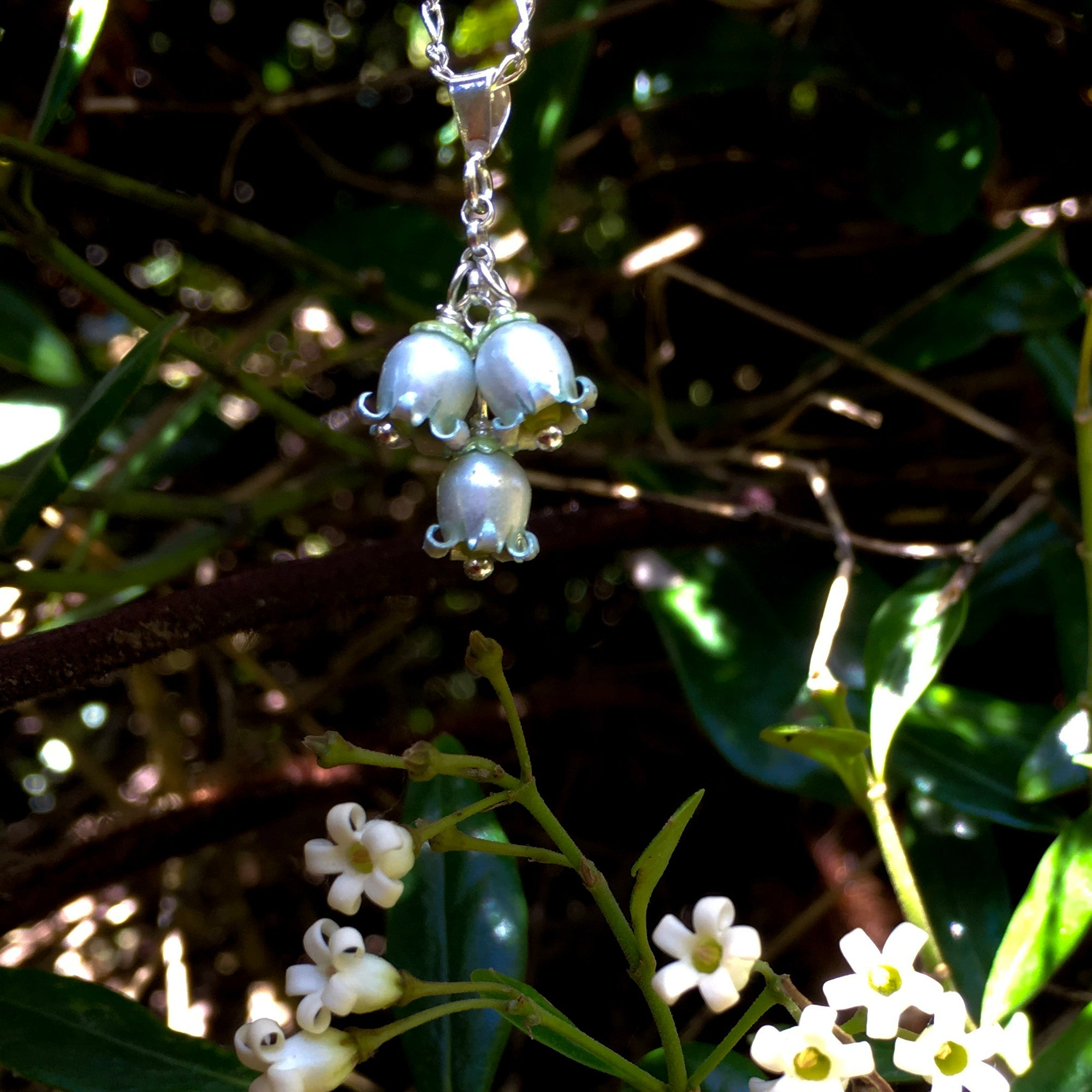 Jasmine Bloom Pendant