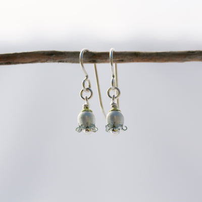 Jasmine Drop Earrings by Adele Stewart - Rata Jewellery