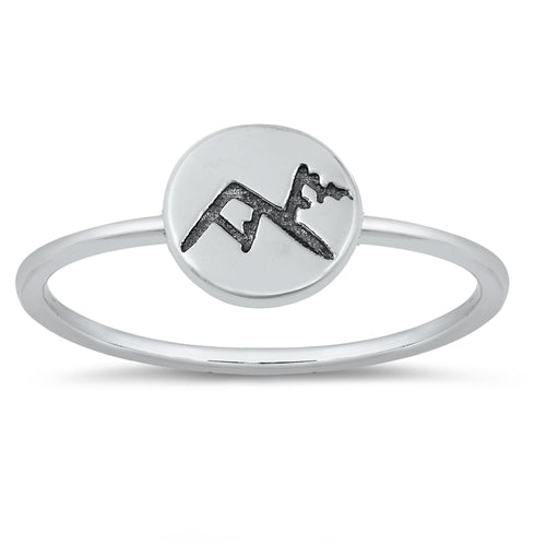 Mountain Medallion Ring by Rata Jewellery - Rata Jewellery