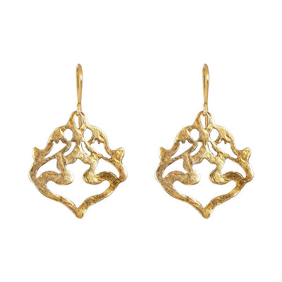 Nina Earrings - Gold by Rock Finders Keepers - Rata Jewellery