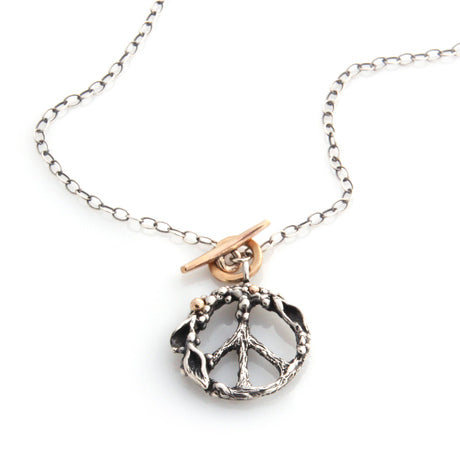 Peace Necklace by Louise Douglas - Rata Jewellery