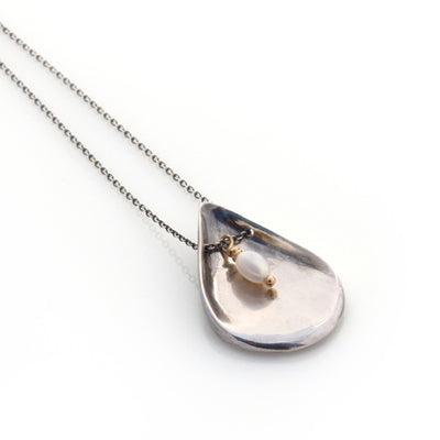Petal Necklace by Louise Douglas - Rata Jewellery
