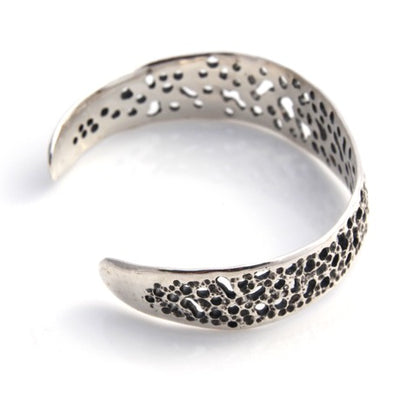 Sea Lace Bangle  - Silver by Louise Douglas - Rata Jewellery