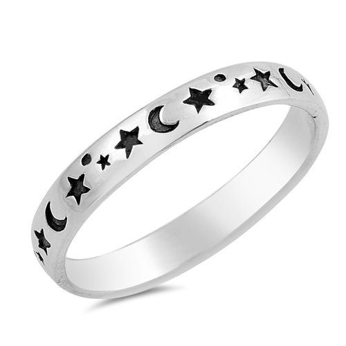 Stars & Moons Band by Rata Jewellery - Rata Jewellery