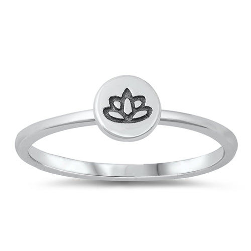 Tiny Lotus Ring