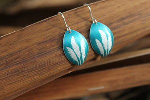 Toi Toi Earrings - Turquoise by Jill Main - Rata Jewellery