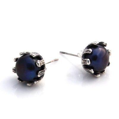 Crown Studs by Louise Douglas - Rata Jewellery