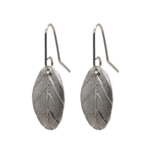 Silver Garland Earrings by Stone Arrow - Rata Jewellery