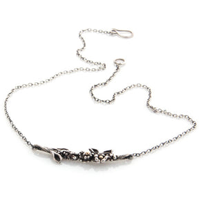 Floral Branch Necklace by Louise Douglas - Rata Jewellery