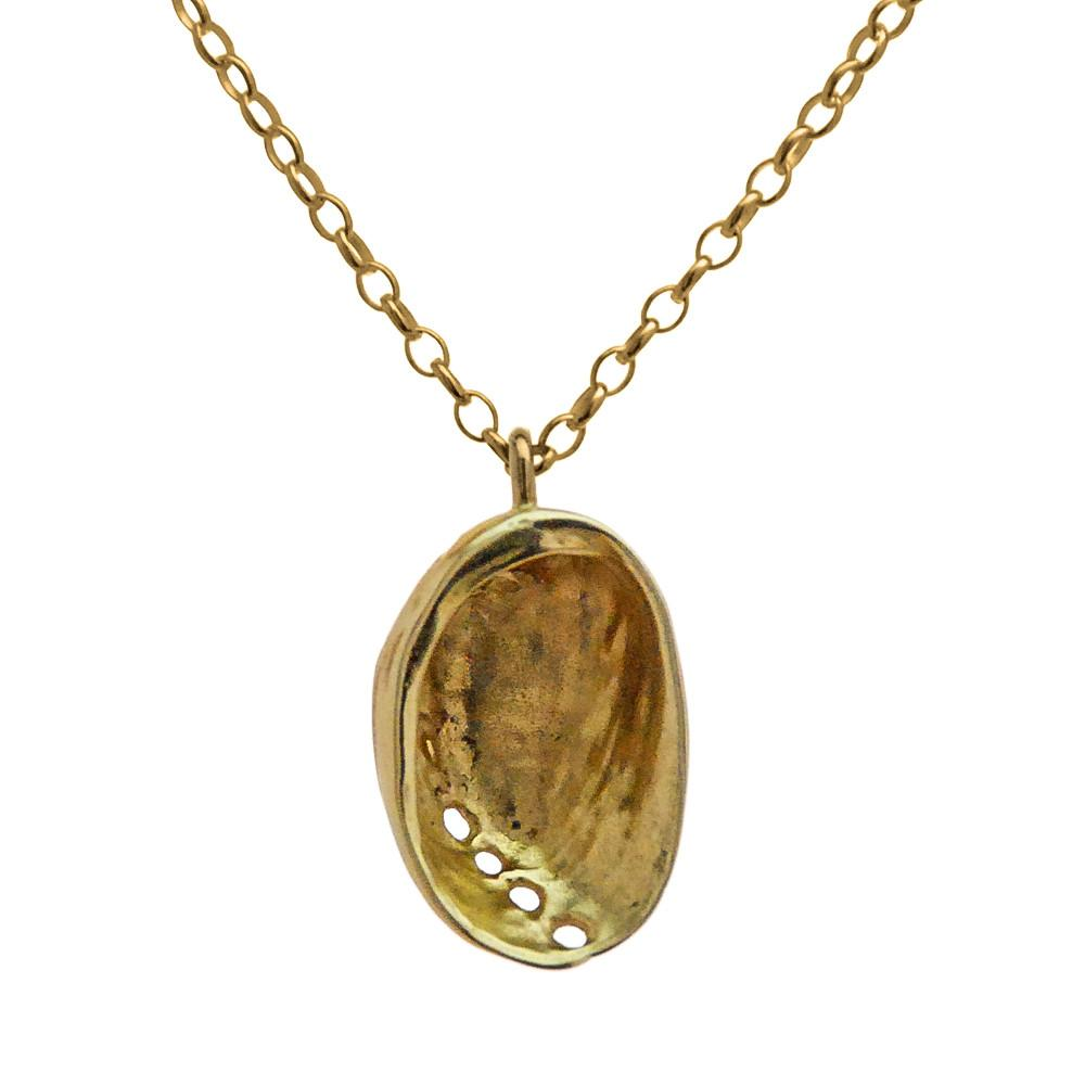 Baby Paua Necklace - Golf