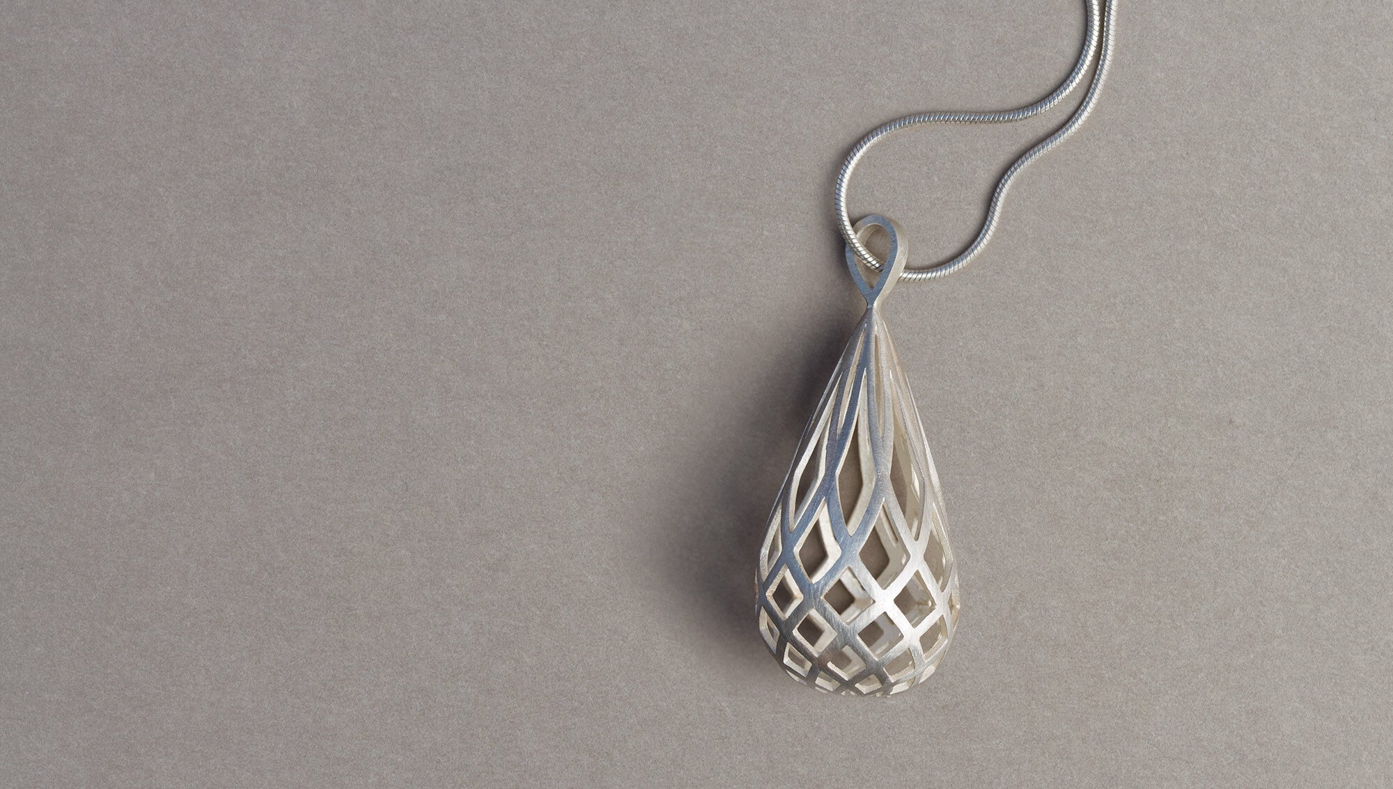 Koura Pendant by David Trubridge - Rata Jewellery