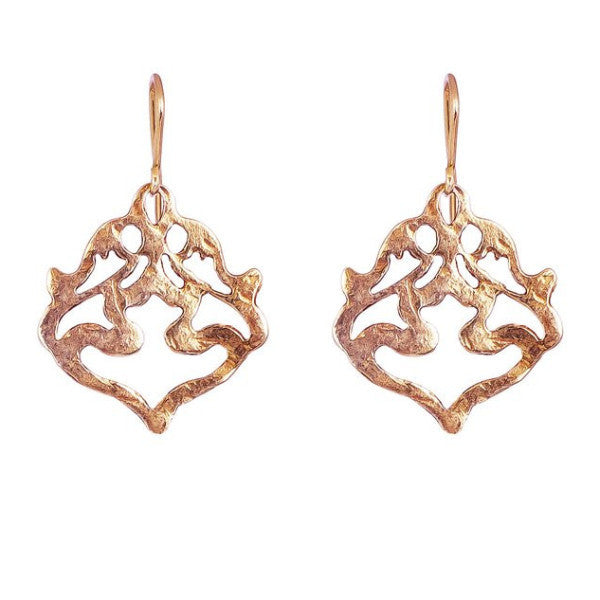Nina's Earrings - Rose Gold by Rock Finders Keepers - Rata Jewellery