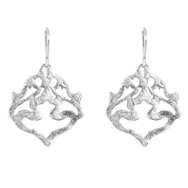 Nina's Earrings - Silver