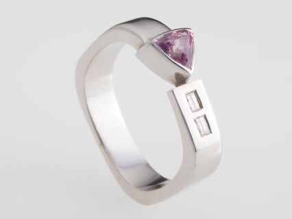 Pink Sapphire Ring by Workshop 41 - Rata Jewellery