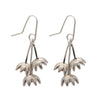 Dewdrop Earrings  - Silver by Stone Arrow - Rata Jewellery