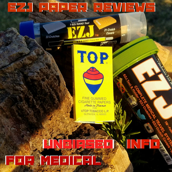 EZJ reviews Top brand rolling paper