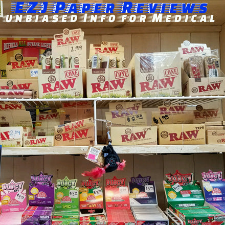 EZJ offical review of Raw organic 11/4 Paper and cones
