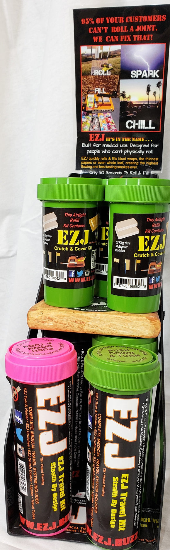 Original EZJ Travel Kits , Refill kits and Power Injectors & EZ8's