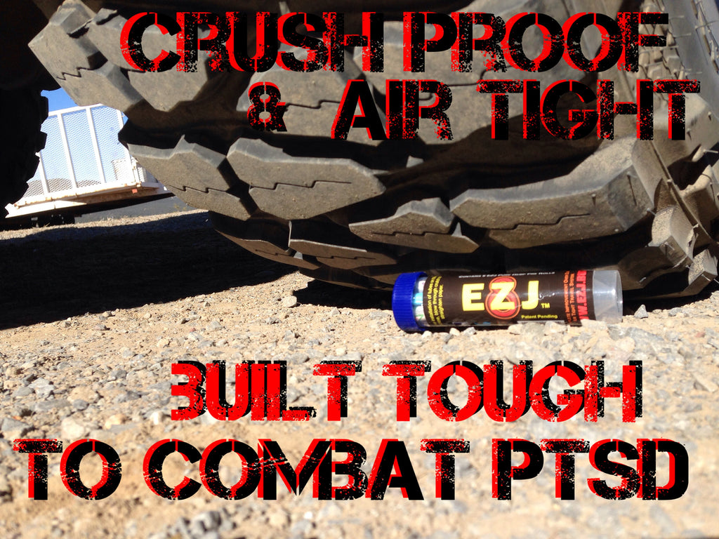 EZ8 are 8 EZJ in rugged air tight containers rolled by Veterans in the USA