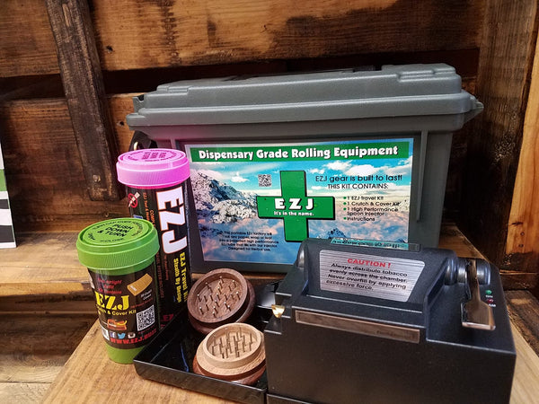 Powered Rolling kit Includes our Travel kit and makes over 150 EZJ.