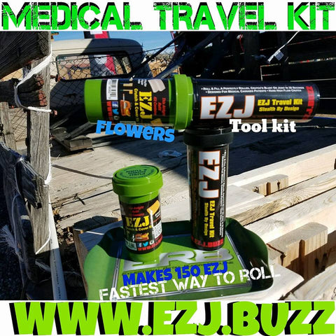 EZJ Travel kit & Cructh & Cover kit is the Base of every rolling system we sell.