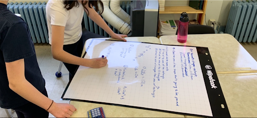 Whiteboard_VNPS_Thinkingclassroom_School_Math_Lessons_Groupwork_teacher